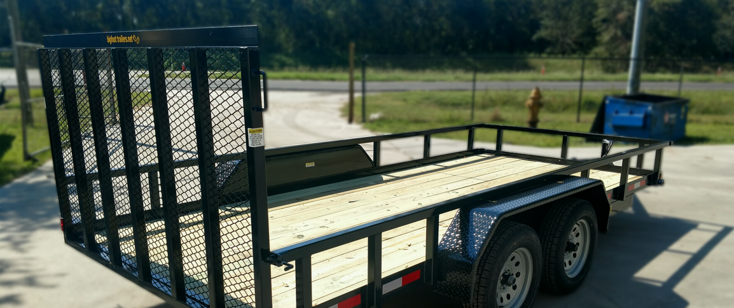 HOME PAGE FOR BIGFOOT TRAILERS -- Big Foot Trailers